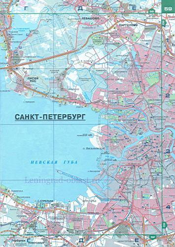 Схема автодорог санкт петербург 437