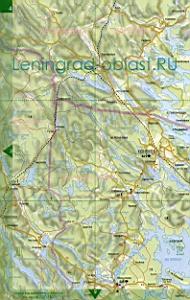 соловьёвка приозерский район карта местности