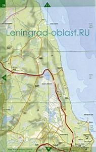 Волочаевка на карте ленинградской области